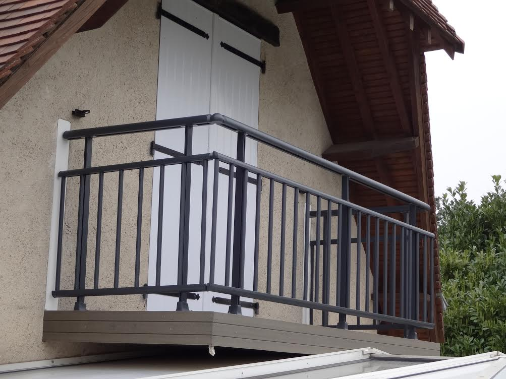 Balustrade alu exterieur for Balustrade aluminium exterieur